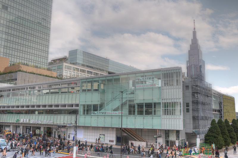バスタ新宿(開業時)
