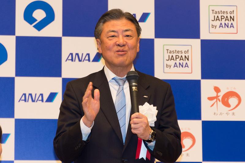 全日本空輸株式会社 取締役常務執行役員 志岐隆史氏