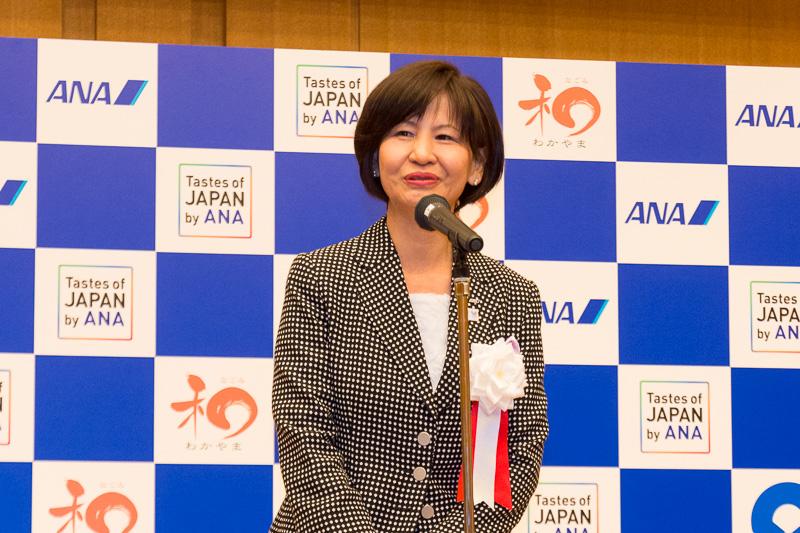 全日本空輸株式会社 上席執行役員 関西支社長 新居勇子氏