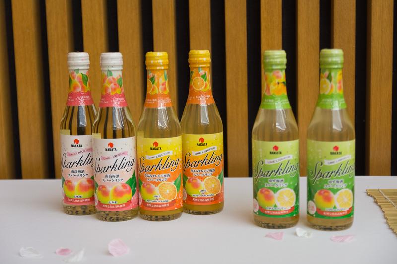 中田食品ではこのほかにも南高梅を利用したさまざまな商品を展開している