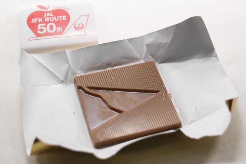 就航50周年記念のチョコレート