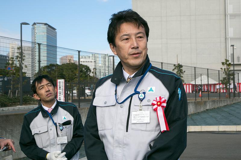首都高速道路株式会社 執行役員 東京西局長 桜井順氏