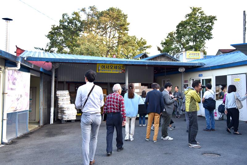「栗マッコリ」の元祖といえば「サゴク醸造場」というほど有名