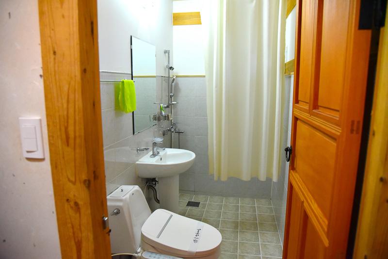 トイレも掃除が行き届いている