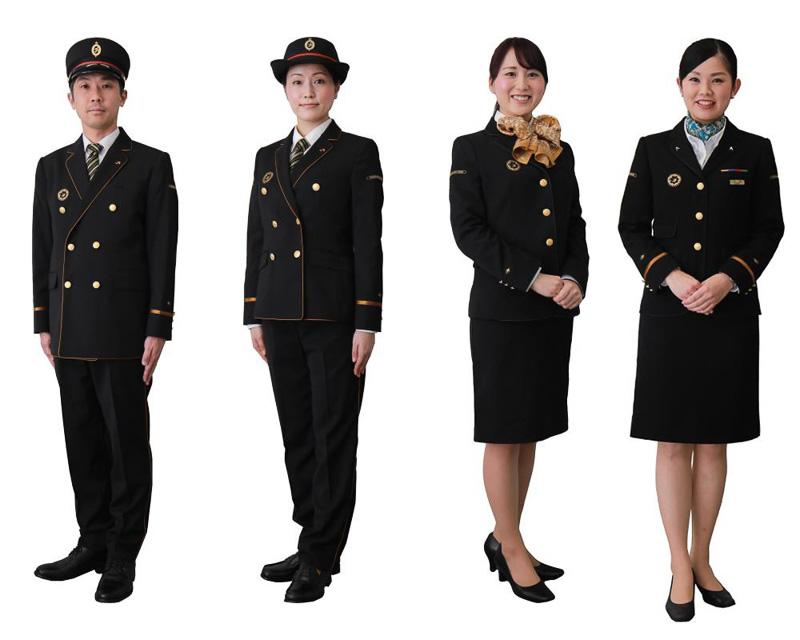 JR九州は2017年4月1日から新制服を導入する