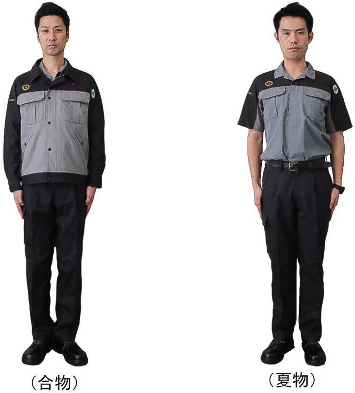 JR九州の新制服「技術系制服(車両・施設・電気)」