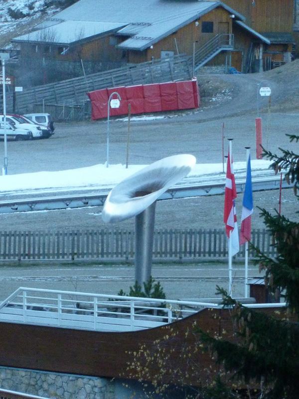 オリンピックパークの横には聖火台跡が