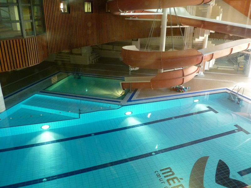 オリンピックパーク内には室内プールやボルダリングをできる場所も