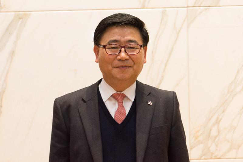 韓国観光公社 日本チーム チーム長の李鶴柱(イ・ハクチュ)氏