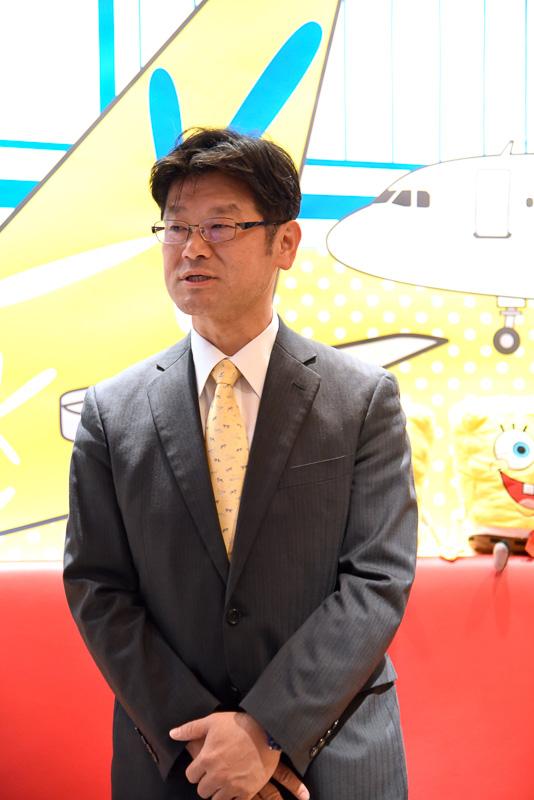バニラ・エア株式会社代表取締役社長の五島勝也氏
