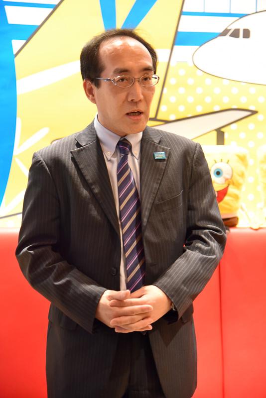 成田国際空港株式会社 営業部門エアライン営業部長 飯嶋康弘氏