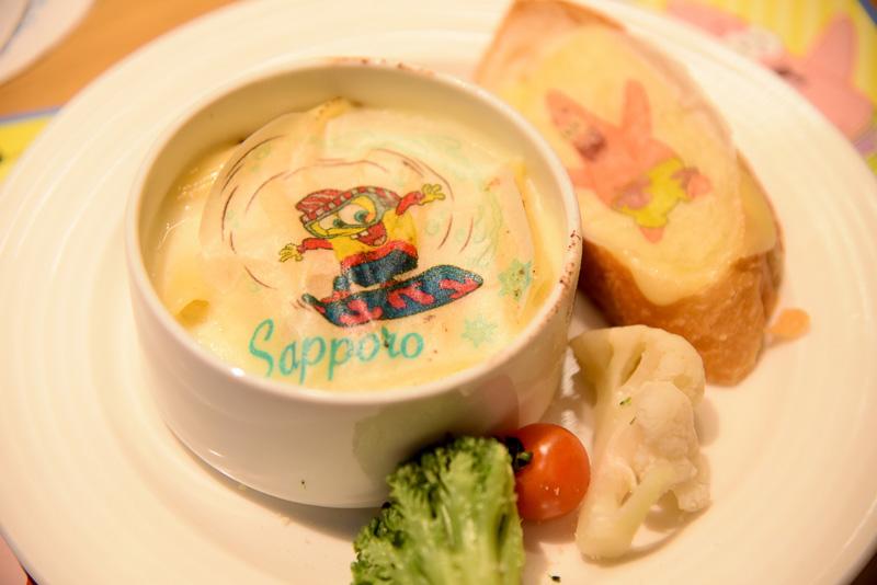 「スポンジ・ボブのチーズグラタン~札幌の雪遊び~」