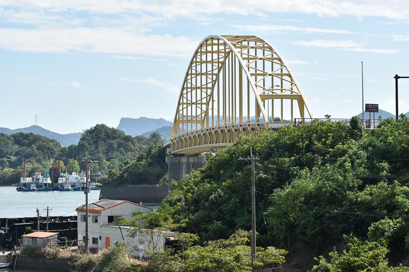 2号橋である大矢野橋を宇城市側から見たところ