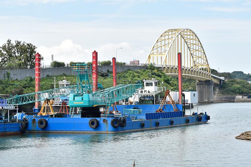 大矢野橋を天草側から見たところ