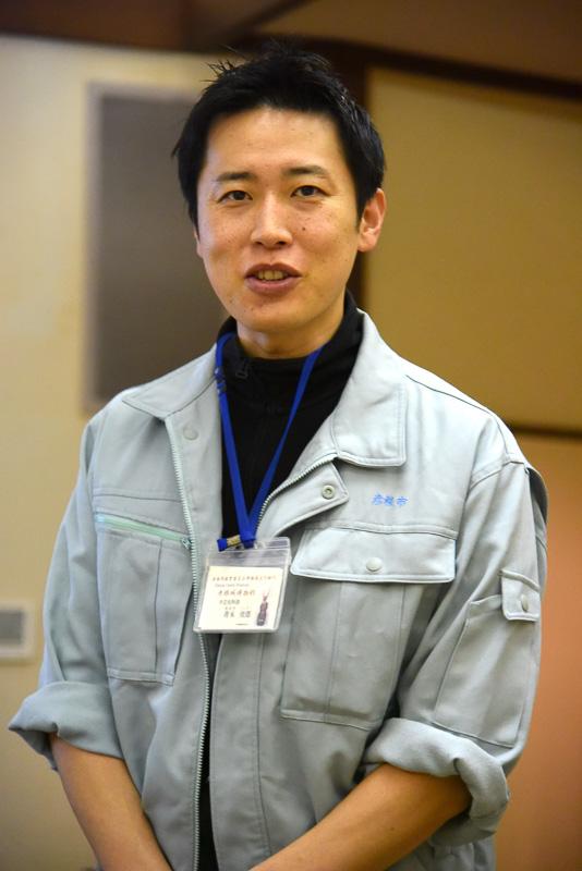 館内について解説してくれた彦根城博物館 学芸史料課の青木俊郎氏