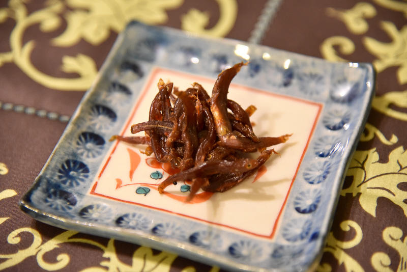 「稚あゆ」(65g/756円)はご飯に少し載せるだけでも、主役級の美味しさに。混ぜておむすびにしたり味わいかたは無限大