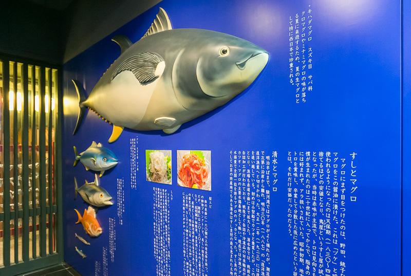 清水港で水揚げされるマグロなども寿司ネタの代名詞