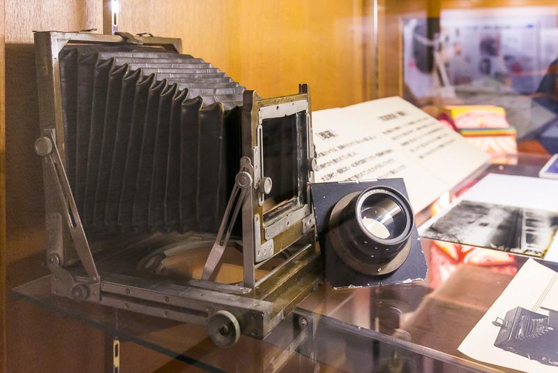 慶喜が使用していたものと同型の写真機