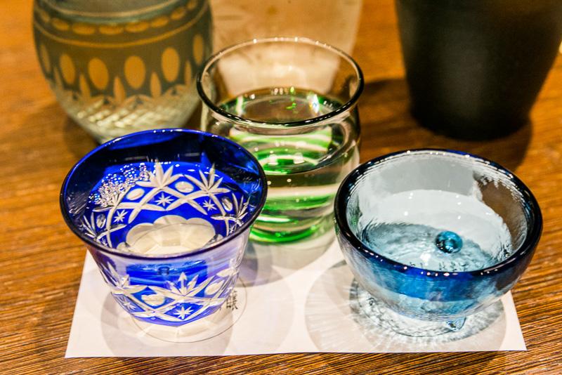 どの日本酒も飲みやすく、特に清見寺の「臥龍梅」からとった「誉富士 臥龍梅」は優しい飲み口である