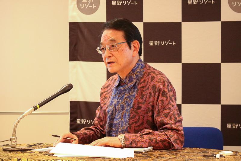 インドネシア共和国 観光省 ビジットインドネシアツーリズムオフィス 日本地区事務所 代表 成田忠彦氏