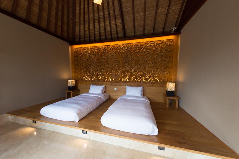 ヴィラ・ブランの寝室