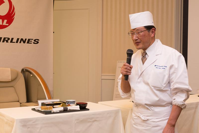 ホテルメトロポリタン盛岡 執行役員 日本料理長 須藤義太郎氏