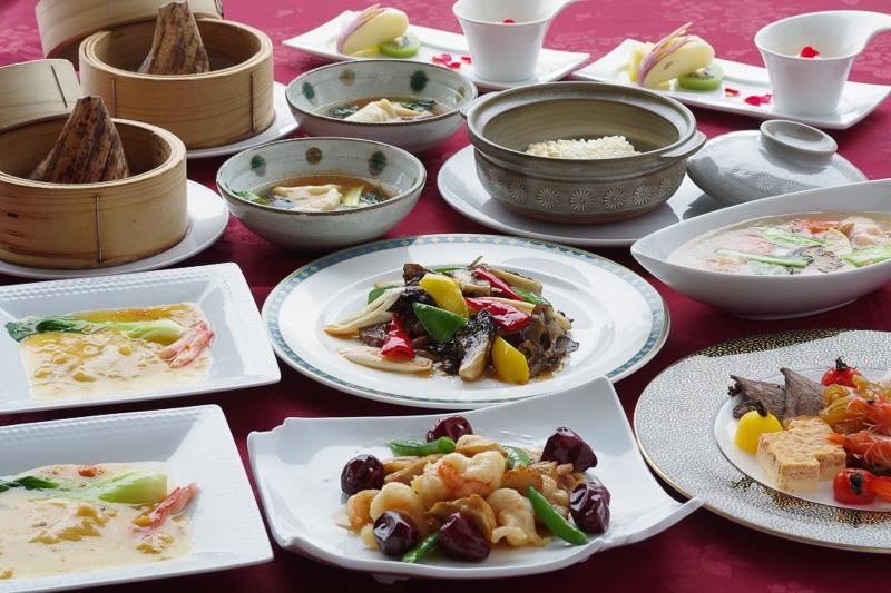 春節時期限定のコース料理「春節菜譜」