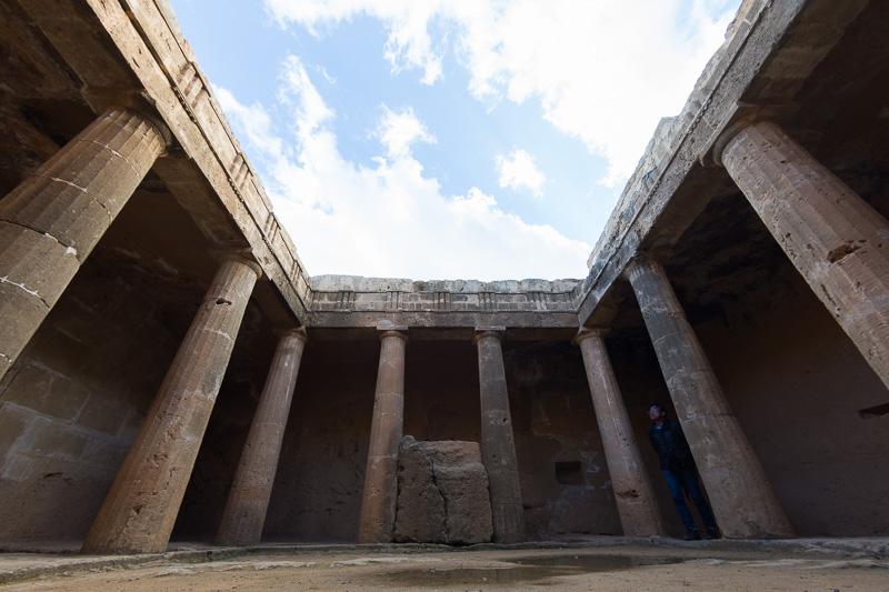 世界遺産に登録されている「王族の墓(Tombs of the Kings)」