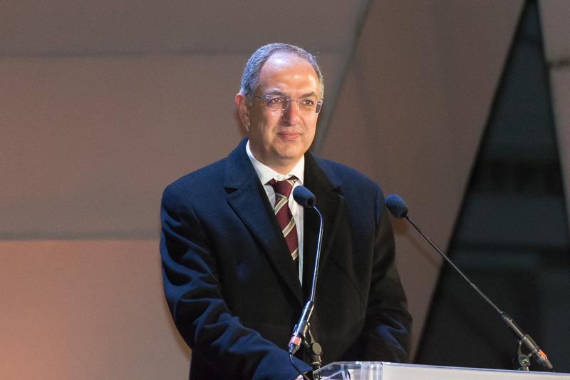 キプロス教育大臣のコスタス・カディス(Costas Kadis)氏