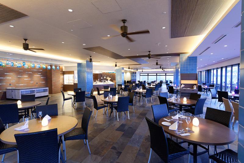 2016年12月26日にオープンしたレストラン「ザ・グリル」