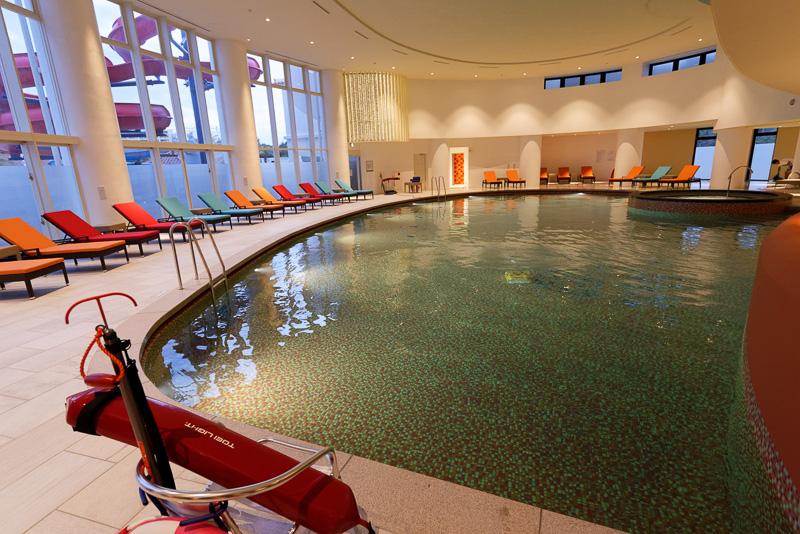 現在のところ21mの屋内プールのみ使用可能