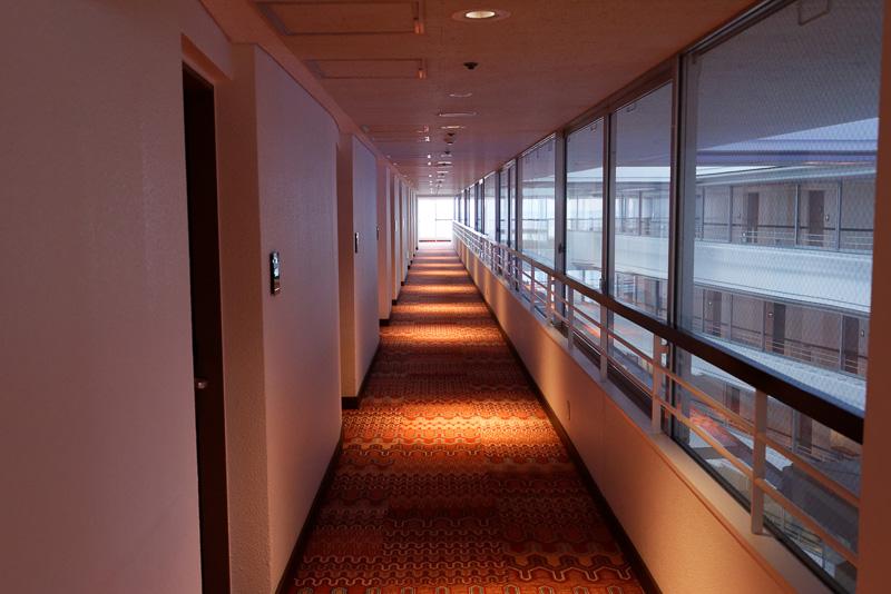 本館の廊下