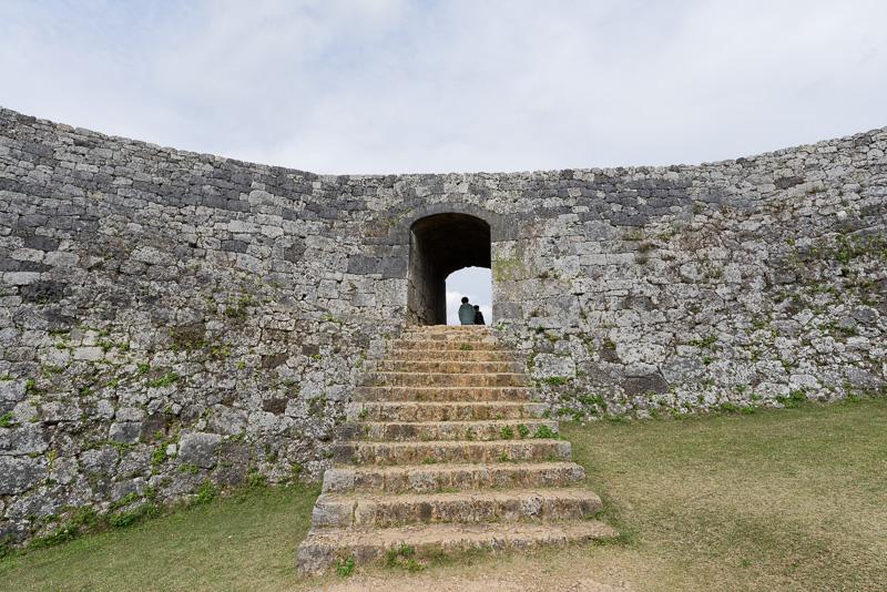 一の郭へ至る2番目の門