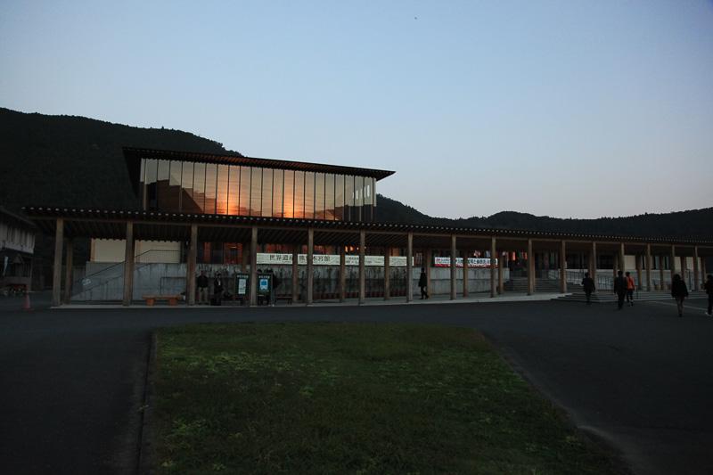 世界遺産 熊野本宮館。北棟と南棟があり、こちらは北棟