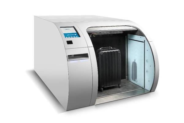 成田国際空港で導入する自動手荷物預け機のイメージ