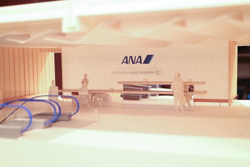発表会会場では、リニューアルデザインのミニチュアが展示されていた