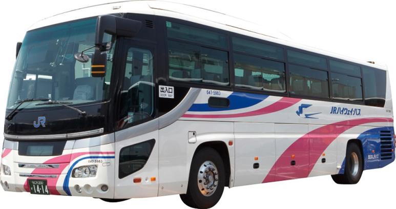 西日本ジェイアールバスの高速バス