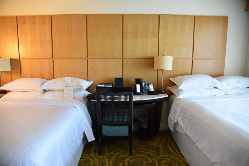 ベッド2台のお部屋