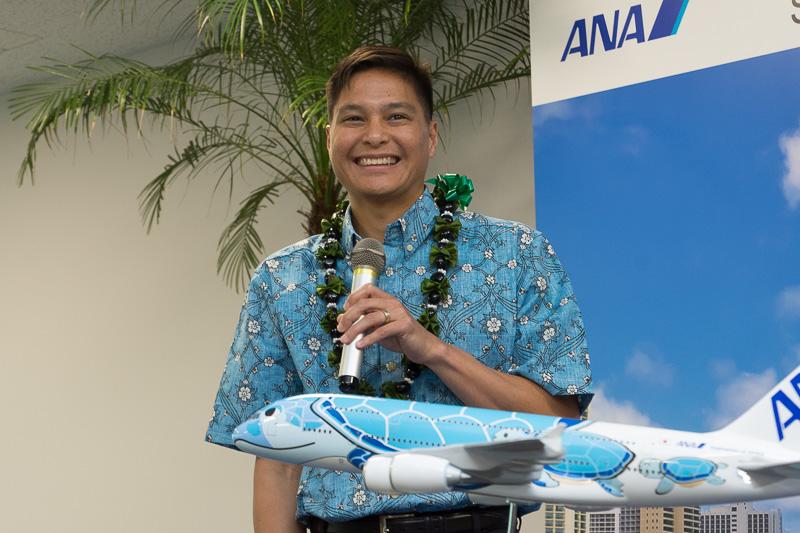 ハワイ州観光局(Hawaii Tourisma Athority) COO ランディ・バルデモア(Randy Baldemor)氏