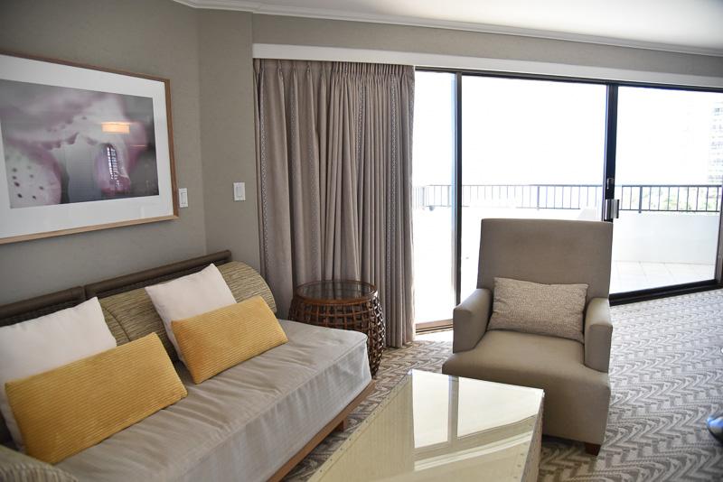 「タワーウィング/9階以上ダイヤモンドヘッド・スイート96号室」で予約をすると宿泊できるゲストルーム