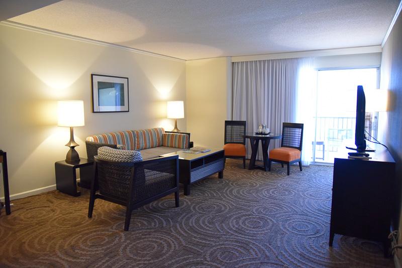 「20階以上ダイヤモンドヘッド・オーシャンフロント・ハネムーンスイート」の予約で宿泊できるゲストルーム