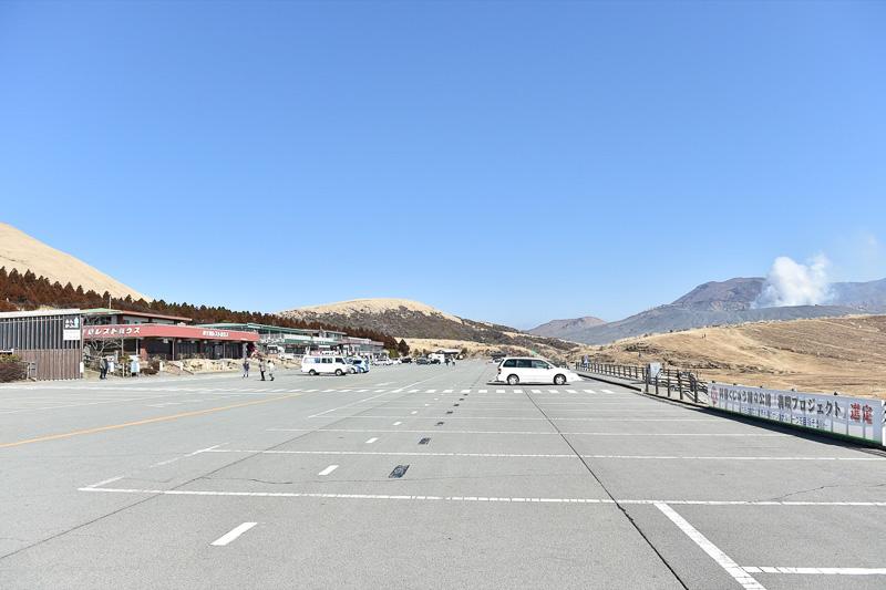 現在は無料で開放されている駐車場