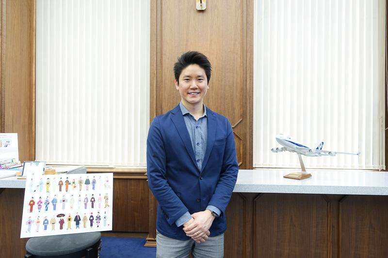 津田氏とともにWonderFLYを担当する全日本空輸株式会社 デジタル・デザイン・ラボ イノベーション・リサーチャー 梶谷ケビン氏