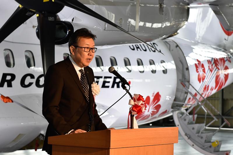 日本エアコミューター株式会社 代表取締役社長 加藤洋樹氏