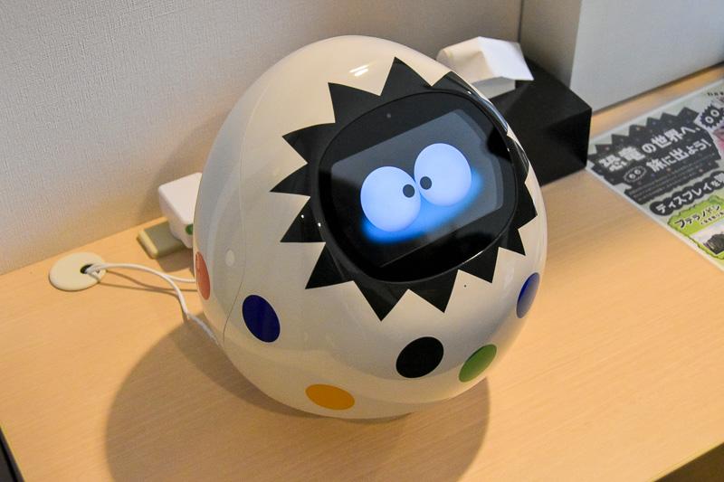 AIを搭載した客室ロボット「Tapia」