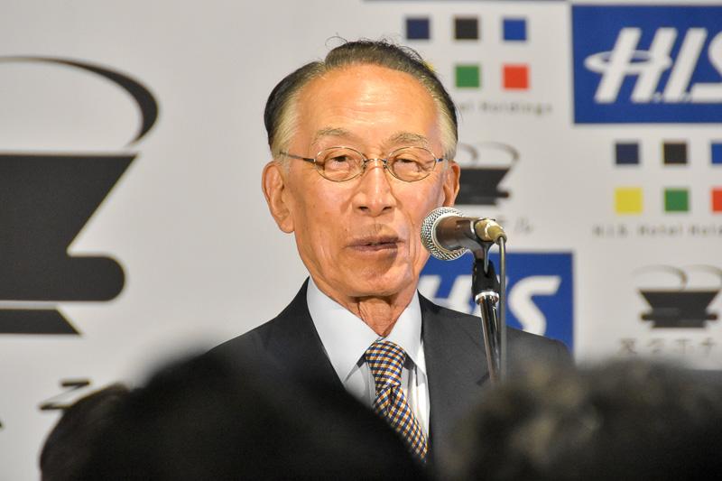 澤田氏とは長年親交があるという株式会社日本総合研究所 名誉会長の野田一夫氏