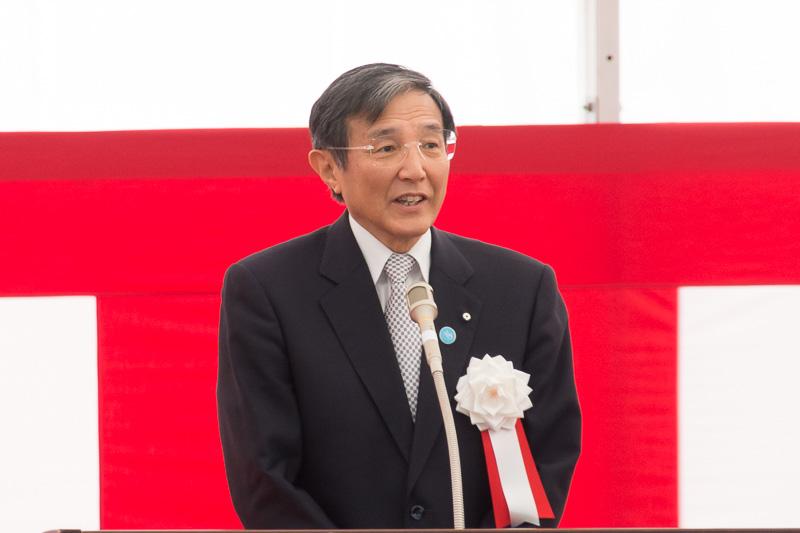 和歌山県知事 仁坂吉伸氏