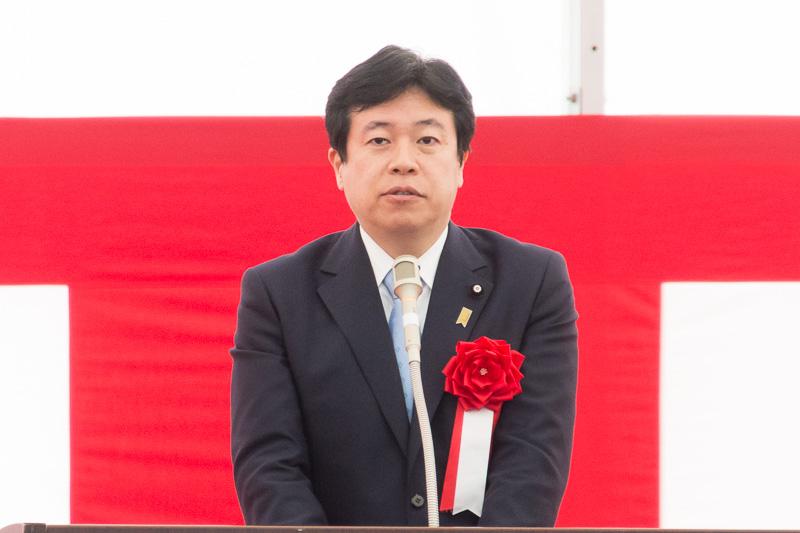 内閣府特命担当大臣(沖縄および北方担当) 参議院議員 鶴保庸介氏