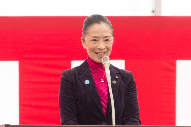 衆議院議員 浮島智子氏