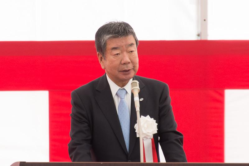 西日本高速道路株式会社 取締役会長 山中諄氏
